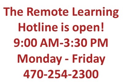 Remote Learning Help