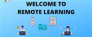 Welcome to Remote Learning