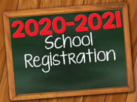 Register Now For The 2020-2021 School Year