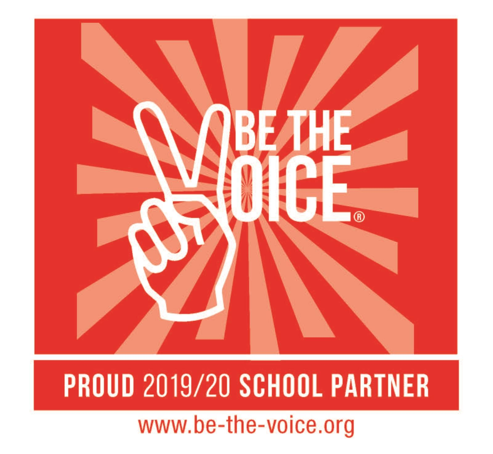 TRMS is a Be The Voice Partner School