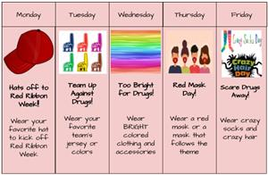Red Ribbon Week Themes