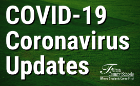 COVID-19 Coronavirus Updates From The District