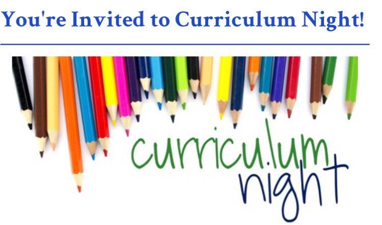 In case you missed Curriculum Night...