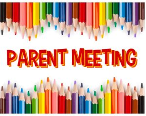 Pre-K & Kindergarten Parent Meeting Recap