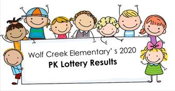 Pre-K Lottery Results
