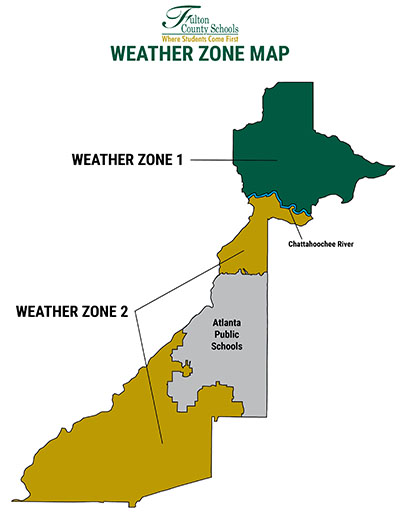 FCS Weather Zone MAp