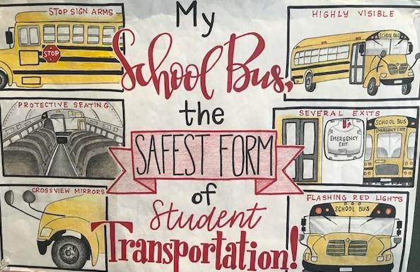 Bus Safety Poster Winner