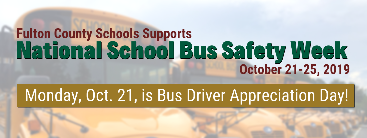 Bus Safety Banner