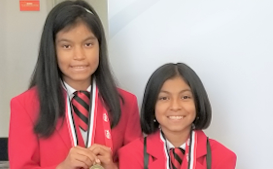 Paul D. West Middle School Students Take Gold at FCCLA Competition