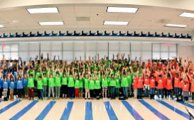 Students at District-Wide Choral Clinic