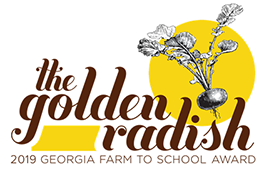 2019 Golden Radish Award Logo