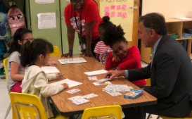 Superintendent Finalist Dr. Mike Looney Visits the Community