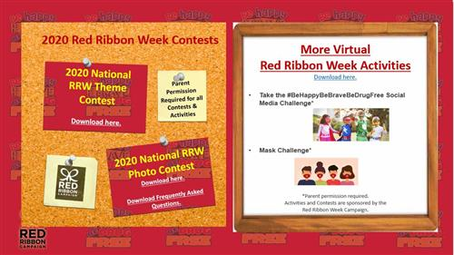 Red Ribbon Week Contest