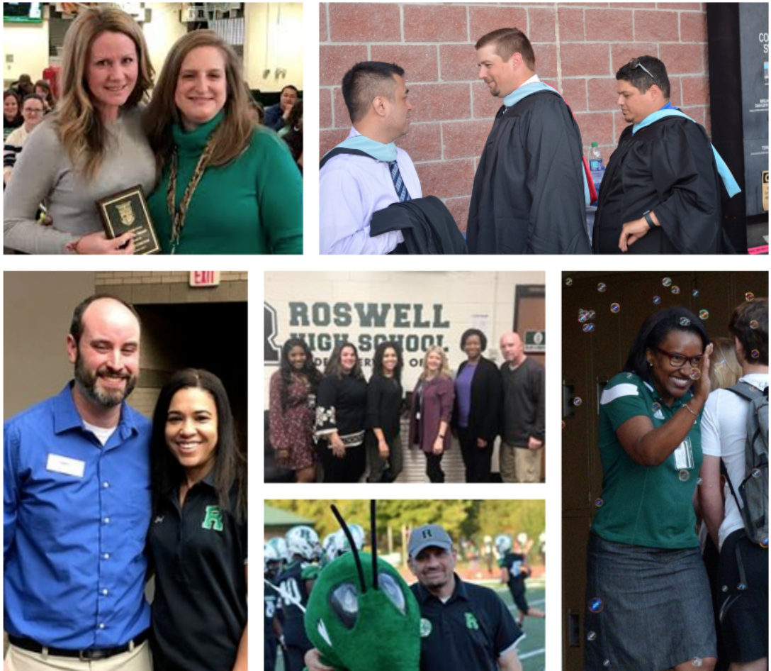 Image of a Collage of RHS Staff.