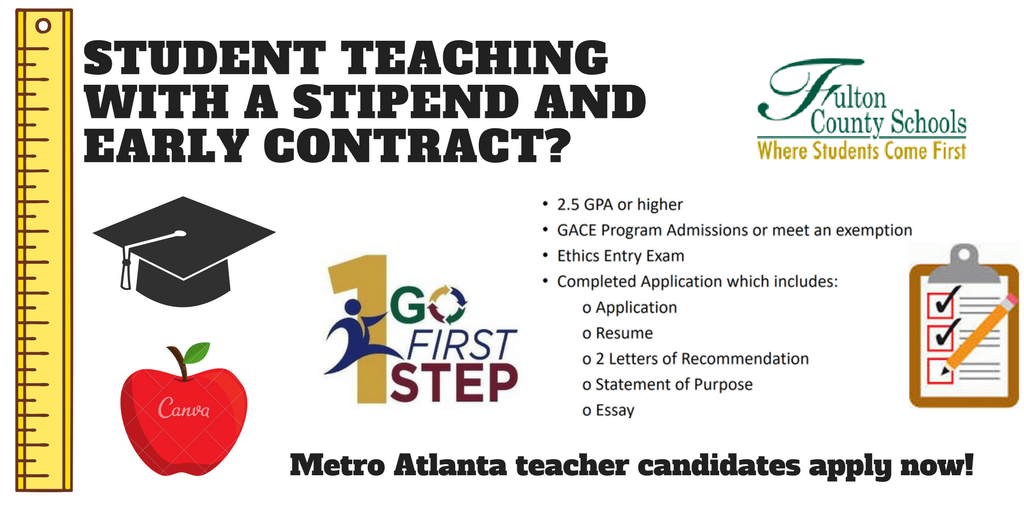 Student Teaching with a Stipend and Early Contract