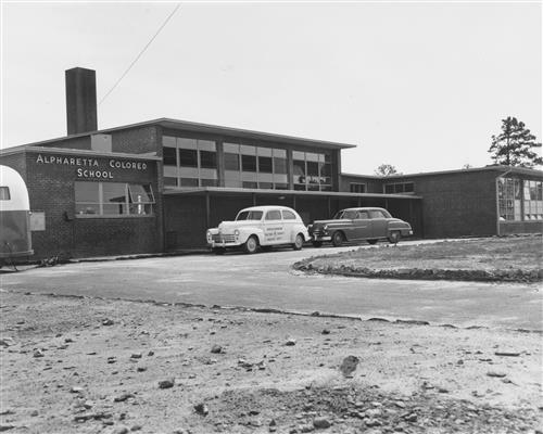 1952 Alpharetta Colored School
