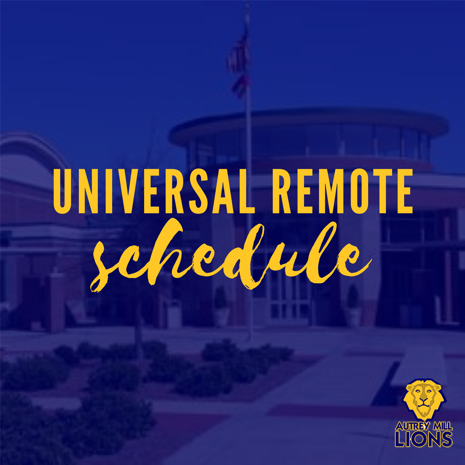 Universal Remote Learning Schedule