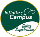 example of the green and white infinite campus logo