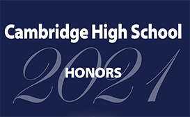 Cambridge High School Honors 2021