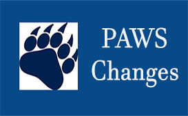 PAWS Changes open September 13