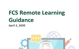 Update: FCS Remote Learning