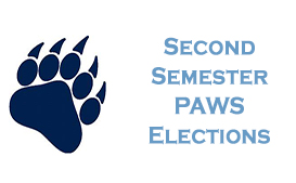 Second Semester PAWS Elelections