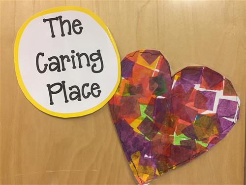 The Caring Place sign