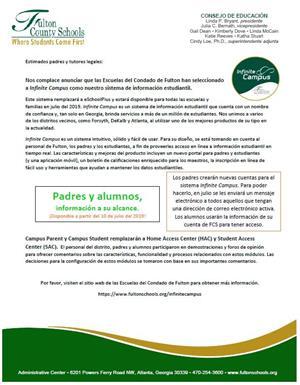 Infinite Campus / Program Overview