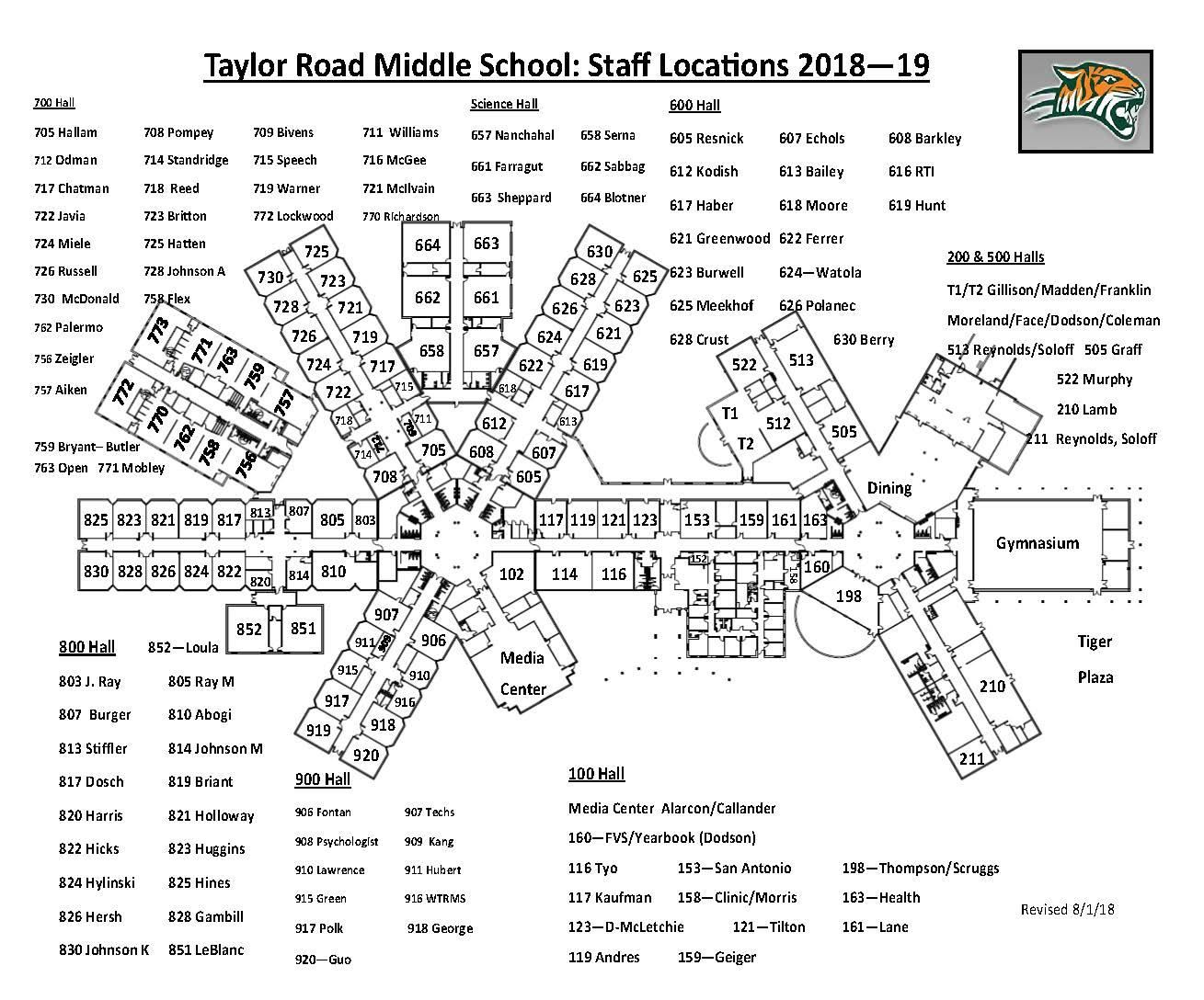 Link to TRMS Map