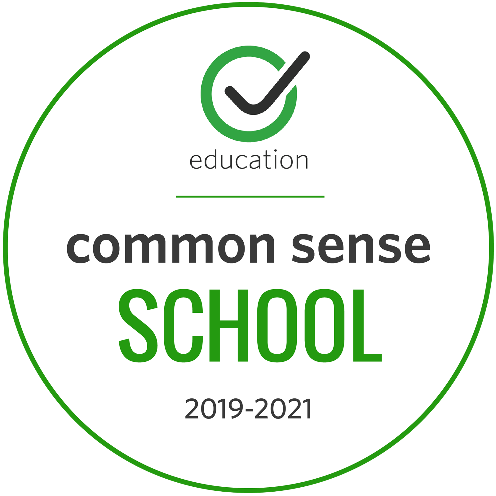 Centennial High School Earned Designation as Common Sense School 2019-2021
