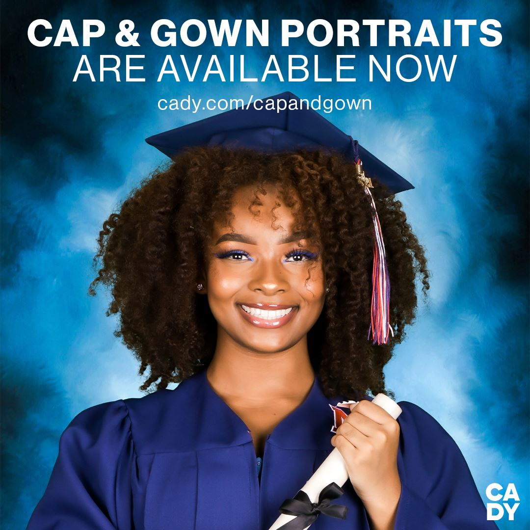 Senior Cap and Gown Portraits