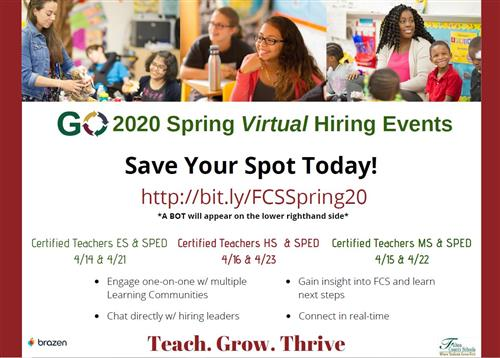 Spring Virtual Registration