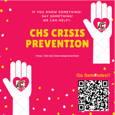 CHS Crisis Prevention for Students