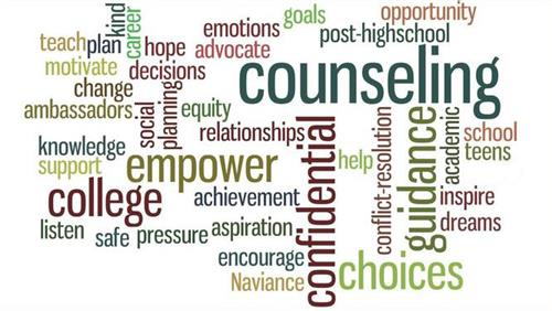 Counseling Word Collage