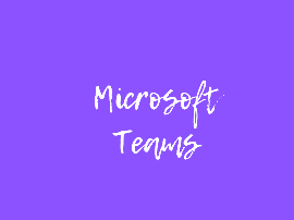 Microsoft Teams & Other Tech Help