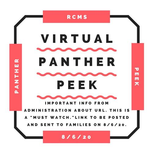 Virtual Panther Peek Announcement