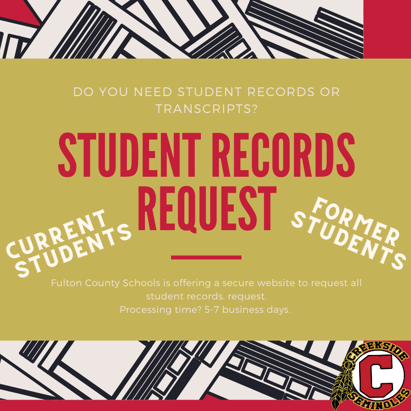 Online Student Records Request
