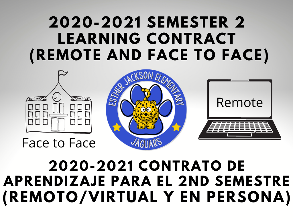2nd Semester Learning Contract