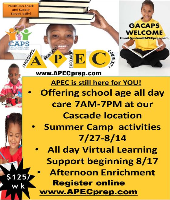 APEC All Day Daycare 2020