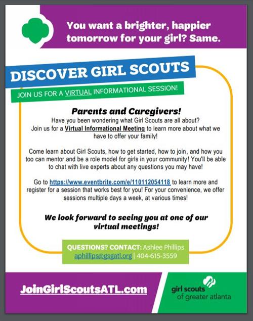 JOIN Girl Scouts ATL