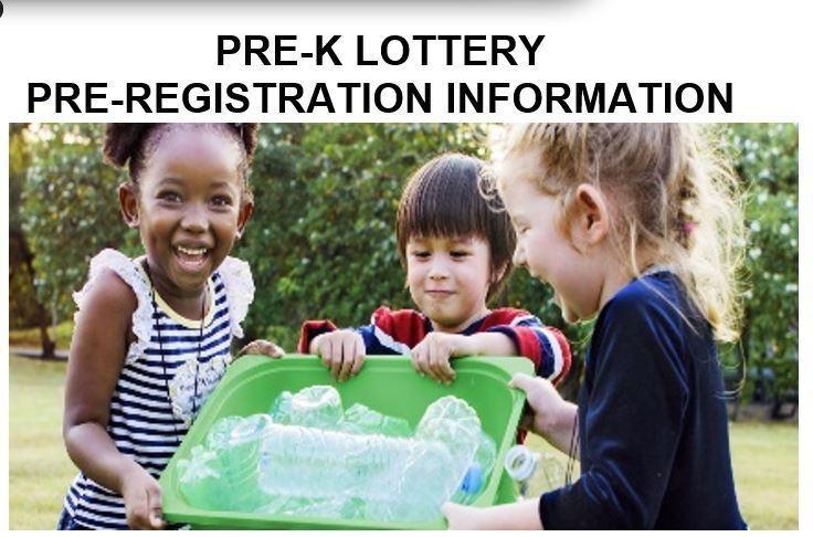 Click Here!  PRE-K PRE-REGISTRATION INFORMATION (English/Spanish)