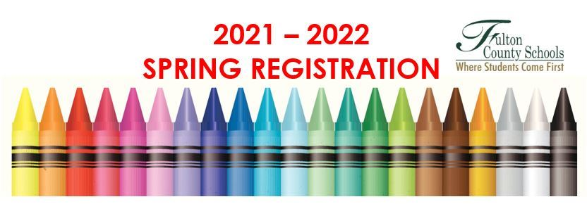 CLICK Here for the 2021-2022 Spring Registration (English/Spanish)