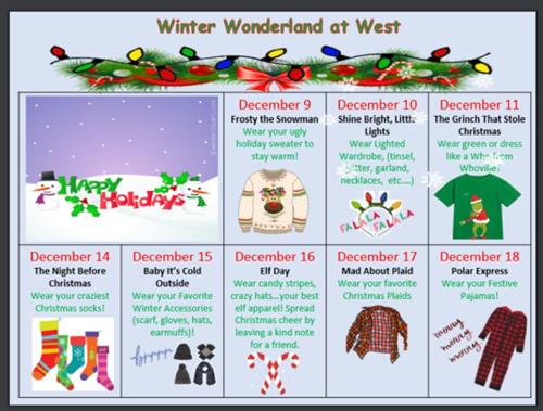 Winter Wonderland at West.....Let's Have Some FUN!