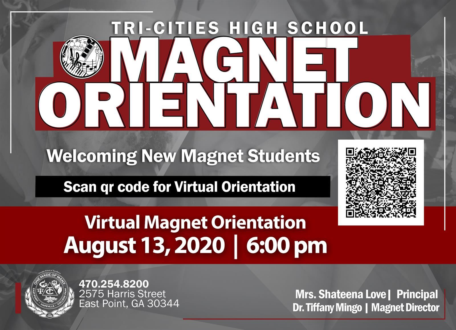 new student orientation magnet