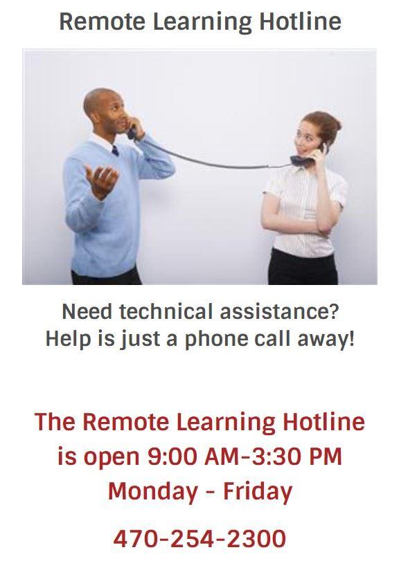 Technology hotline