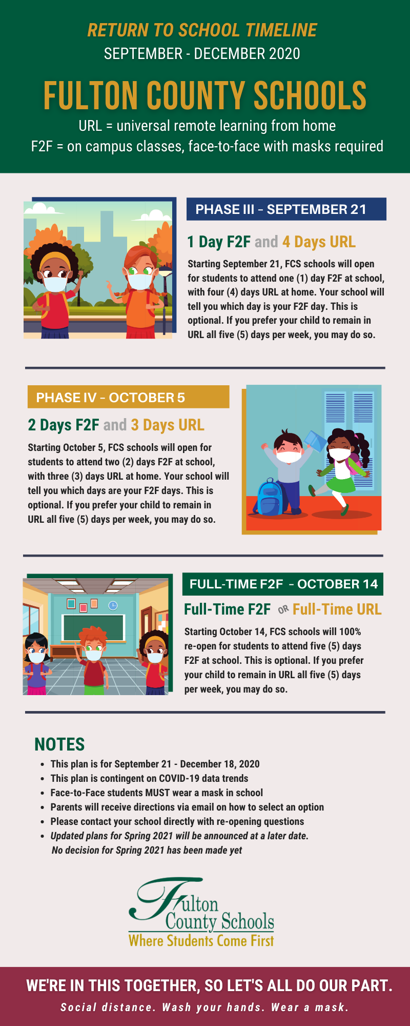 Back to School Timeline