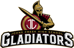 Johns creek high school gladiator logo