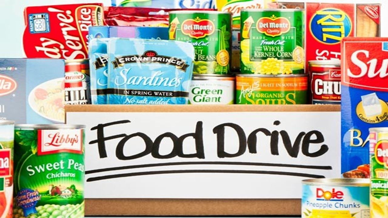 CAN FOOD DRIVE START OCT 28 - ENDING NOV 13, 20