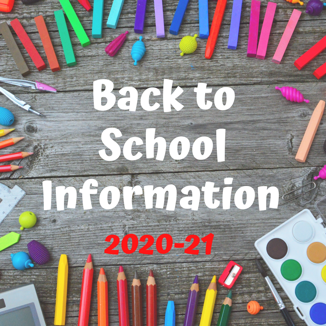 Students & Families / Back to School Information