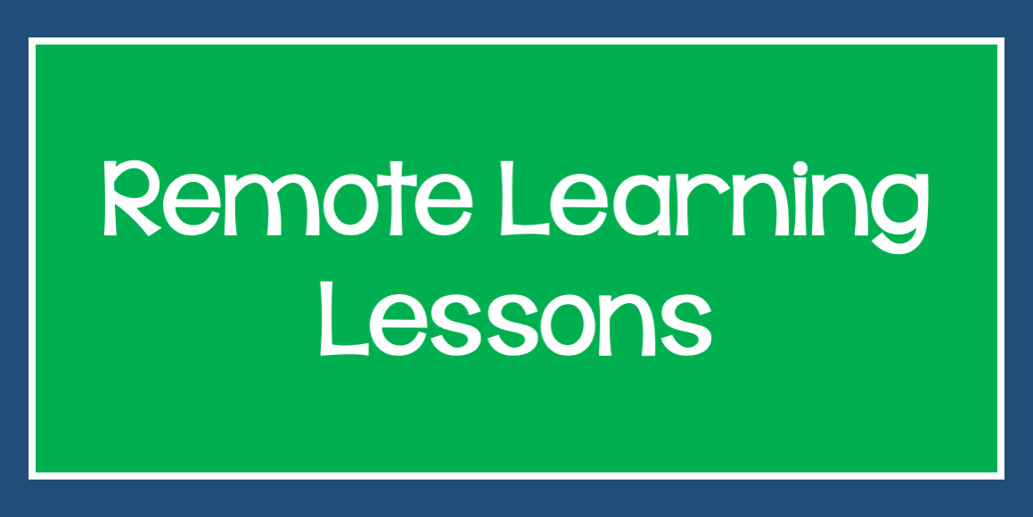 remote learning lessons